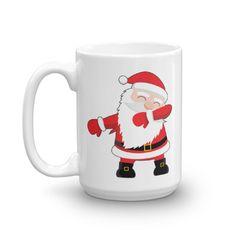 Dabbin' Santa Coffee Mug Hot Seller for the Holidays!