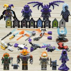 Lego ® Accessoire Minifig Arme Lance Nexo Knights Weapon Choose Color NEW
