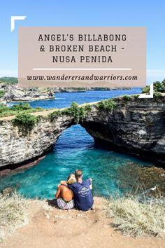 Wanderers & Warriors Pinterest - Charlie & Lauren UK Travel Couple - Angel's Billabong & Broken Beach – Nusa Penida