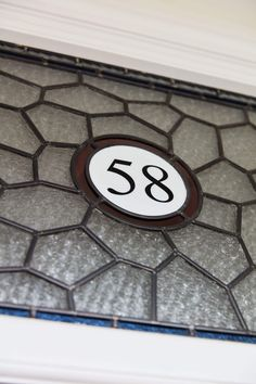 Number 58 showcases the design and detail that make a Victorian door by London Door Company so special.