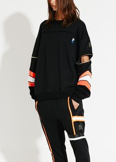 P.E. Nation Zip Off Sleeve Jumper