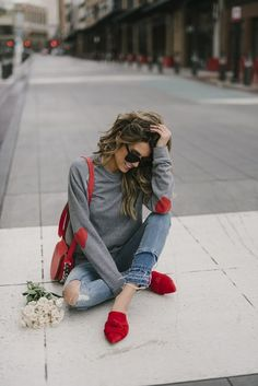 Cute and casual Valentines Day outfit - Hello Fashion and casual V. Cute and casual Valentines Day outfit – Hello Fashion and casual Valentines Day out Date Outfits, Casual Outfits, Fashion Outfits, Fashion Fashion, Club Outfits, Casual Bags, Hello Fashion Blog, Valentine's Day Outfit, Outfit Of The Day