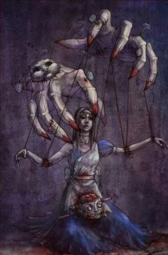 Alice and the puppet master