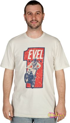 Number One Evel Knievel Shirt