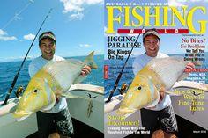 Me on Fishing world Magazine