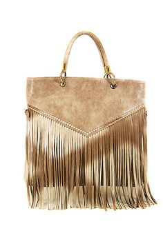 c641de68e907 Khaki Ombre Fringe Bag from Gypsy Outfitters - Boho Luxe Boutique