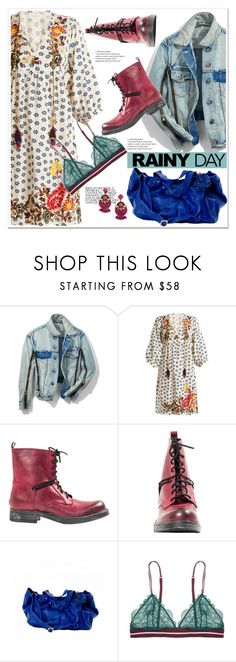 """""""Rainy Day Style and PaoloShoes"""" by spenderellastyle ❤ liked on Polyvore featuring 3.1 Phillip Lim, Velvet by Graham & Spencer, Handle, BaubleBar and rainyday"""