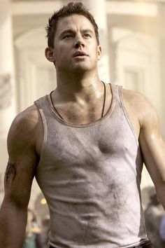 In White House Down.   - Cosmopolitan.com