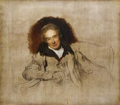 Wilberforce by Sir Thomas Lawrence (unfinished), 1828. I saw this painting in London and no reproduction does it justice. It took my breath away.