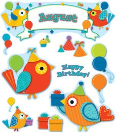 Expand contemporary decorative themes into your curriculum with Boho Birds! Celebrate with your students using the fun accents and bright, bold colors of the Boho Birds Birthday Bulletin Board Set. Easy to personalize to help make every student feel special. The eye-catching Boho Bird design helps teacher create a positive environment that promotes creativity, enthusiasm and productivity.