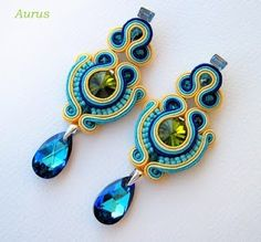 ,soutache - earrings  mishtiart.blogspot.com - follow me! :)