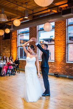 Bride and Groom First Dance Waltz
