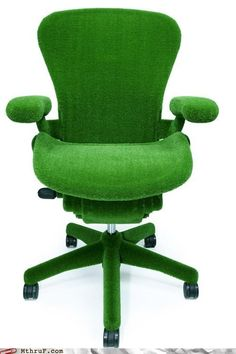 The Astro Turf Chair - to match Astro turf floor