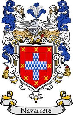 The Navarrete Coat of Arms {Cuba} mi papi lado de la familia 🇵🇷 {My Father}
