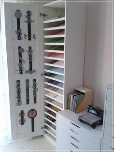 Carolas Bastelstübchen: Papieraufbewahrung IKEA PAX Schuhregal