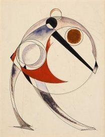 Aleksandr Rodchenko, Figure in a Circle