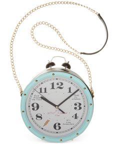 Betsey Johnson Clock Crossbody