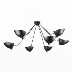 France and Son, This Just in!!! Ceiling Lights, Repin this! 7 Arm MCL-SP7 Spider Ceiling Lamp http://www.franceandson.com/7-arm-mcl-sp7-spider-ceiling-lamp.html #SergeMouille #7armceilinglamp #FranceandSon