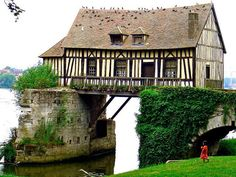 The Old Mill, Vernon, Upper Normandy, France