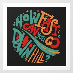 How fast can you go downhill ? - Félix Rousseau - 2014