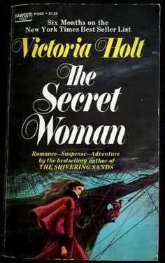The Secret Woman - Victoria Holt Cover art by Harry Bennett