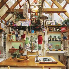 This was listed as a potting shed, but I'd make it my workshop/studio/shed!