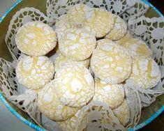 Omlós citromos keksz   Fehér Katica receptje - Cookpad receptek Izu, Cereal, Muffin, Dairy, Cheese, Vegetables, Breakfast, Recipes, Food