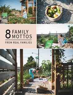8 Family Mottos from REAL, Purposeful Families | So fun to get a glimpse of what is core to other families. Makes you think about what's core to yours!