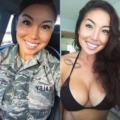 Gorgeous Women, Amazing Women, Mädchen In Uniform, Female Soldier, Military Girl, Military Women, Girls Uniforms, Gym Girls, Professional Women
