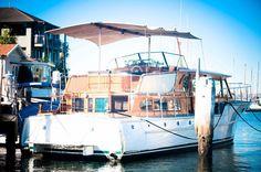 1989 Florida Bay Coaster Trawler Power Boat For Sale www