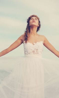 """Loren White"" van Grace Loves Lace. A wedding dress of your dreams."