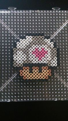 Portal mushroom perler beads by chopperman199 on deviantART