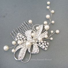 Wedding Hair Combs Accessories Bridal Hair Pieces by eminjewelry, $59.00