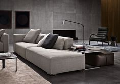 DONOVAN - Designer Sofas from Minotti ✓ all information ✓ high-resolution images ✓ CADs ✓ catalogues ✓ contact information ✓ find your nearest. Sofa Design, Canapé Design, Deco Design, Modern Design, Sofa Furniture, Furniture Design, Living Room Designs, Living Spaces, Interior Architecture
