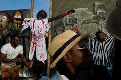 Nikos Economopoulos. GHANA, Accra, 2016. Festival in James town.
