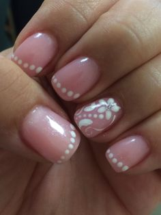 French manicure...with a twist