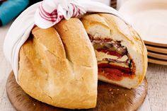 Layered picnic loaf