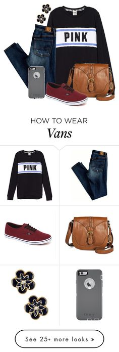 """I told him he broke my heart. It broke his knowing he hurt me"" by dejonggirls on Polyvore featuring American Eagle Outfitters, Kate Spade, Bølo, Vans, OtterBox, women's clothing, women's fashion, women, female and woman"