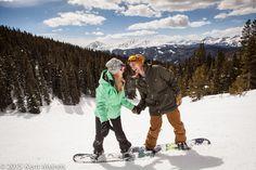 Snowboard Engagement Session at Keystone Resort, CO | www.KeystoneWeddings.com | Photo By: @kentelvin
