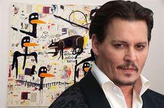 World Arts   Art News   Johnny Depp gets $11m from Basquiat artworks