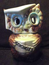 "VINTAGE COLLECTIBLE COOKIE JAR "" OWL """