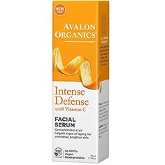 Avalon Organics Vitamin C Renewal Vitality Facial Serum 1 Ounce Pack of 2 *** For more information, visit image link.