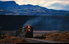 RailPictures.Net Photo: DRGW 5350 Denver & Rio Grande Western Railroad EMD SD40T-2 at Phippsburg, Colorado by Blair Kooistra
