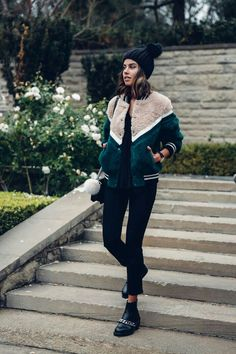 loving the jacket colors and the booties