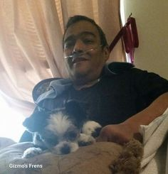 CT therapy dog, Gizmo, travels to TX to grant dying man's final wish