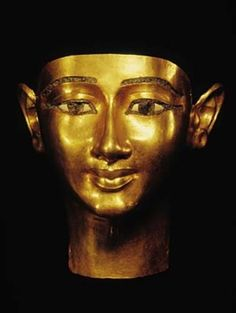 Mask of Wenudjebauendjed  Wenudjebauendjed, a powerful military leader, was buried with this gold funerary mask in the pharaoh's tomb alongside his master.  Twenty-first Dynasty Reign of Psusennes I, 1039–991 BCE From Tanis, tomb of Psusennes I Gold The Egyptian Museum, Cairo: