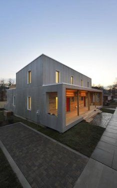 empowerhouse. Affordable passive house just built in DC.
