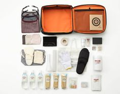 emergency kit by muji.