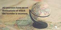 """#Citation : """"All journeys have secret destinations of which the traveler is unaware."""" - Martin Buber. #quote"""
