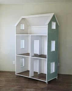 Ana white build a three story american girl or 18 quot dollhouse free